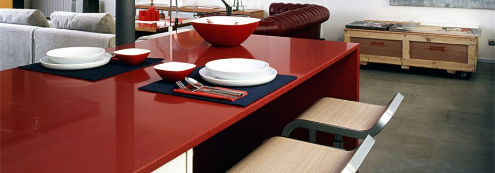 plan-travail-cuisine-quartz-rouge-silestone-vif