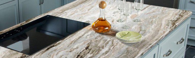 comptoir de cuisine en marbre