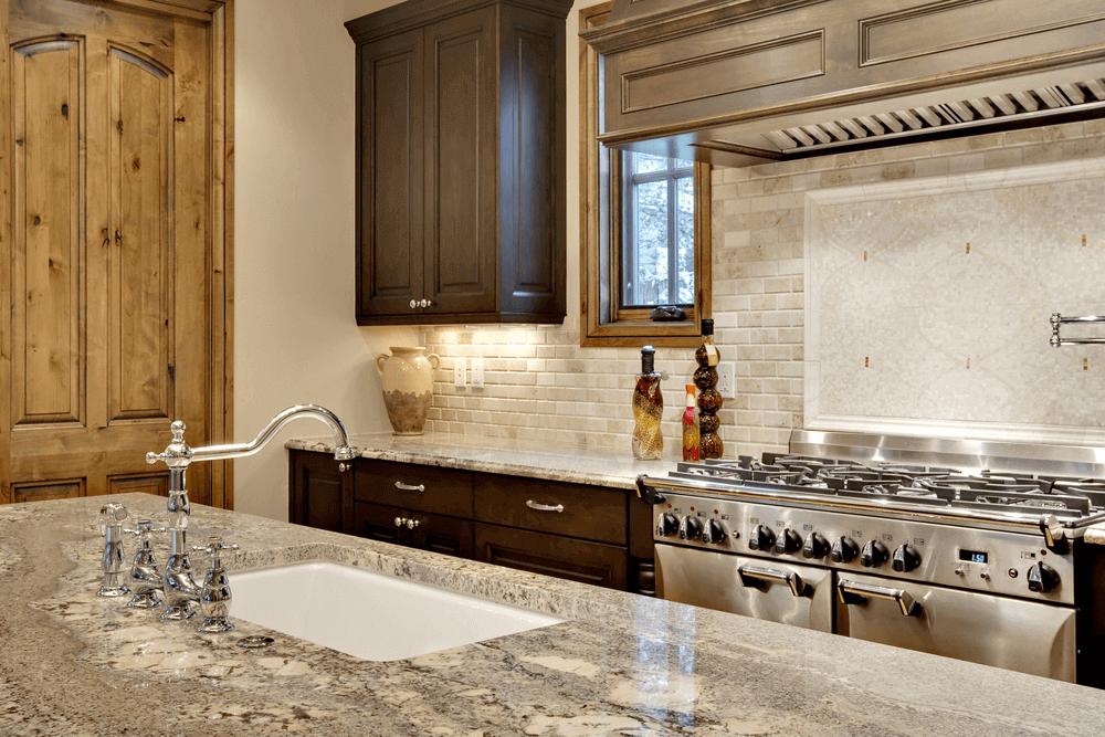 comptoir en granite quartz pour cuisine