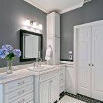 salle de bain comptoir